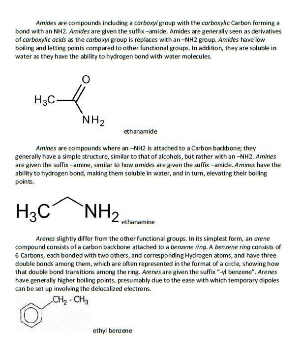 Organic Chemistry – Villanova College Chemistry Blog